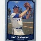 1989 Pacific Legends II Baseball #215 Moe Drabowsky - Kansas City Royals
