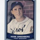 1989 Pacific Legends II Baseball #195 Hank Greenberg - Detroit Tigers