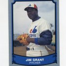 1989 Pacific Legends II Baseball #186 Jim Grant - Montreal Expos