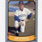 1989 Pacific Legends II Baseball #162 Joe Schultz - Seattle Pilots NM-M