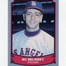 1989 Pacific Legends II Baseball #130 Bo Belinsky - Los Angeles Angels