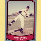 1989 Pacific Legends II Baseball #126 Herb Score - Cleveland Indians