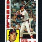 1984 Topps Baseball #790 Doug DeCinces - California Angels