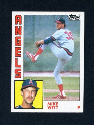 1984 Topps Baseball #499 Mike Witt - California Angels