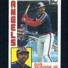 1984 Topps Baseball #236 Ellis Valentine - California Angels
