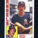 1984 Topps Baseball #201 Bruce Kison - California Angels