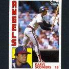 1984 Topps Baseball #027 Daryl Sconiers - California Angels