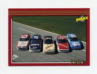 1992 Maxx Red Racing #188 Military Cars MM
