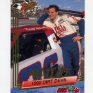 1993 Wheels Rookie Thunder Racing #074 Kenny Wallace
