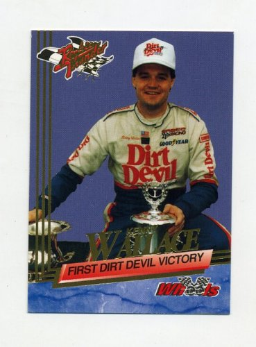 1993 Wheels Rookie Thunder Racing #053 Kenny Wallace