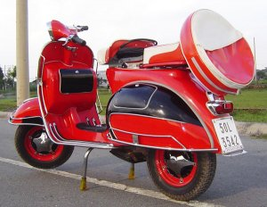 Vespa VBB Standard 1960's