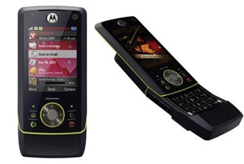 Motorola MOTORIZR Z8 Black Unlocked Quad-band GSM Phone