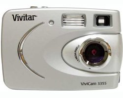 Vivitar ViviCam 3355 1.3 MP Digital Camera