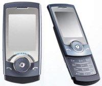 Samsung U600 Quad Band Cell Phone Blue Color (Unlocked)