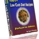 1001+ Low Carb Diet Recipes