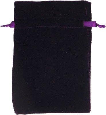 Velvet Tarot Bag - Purple - Unlined 6x9