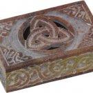 Soapstone Triquetra Box - 4X6