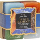 Herbal Four Elements Candle Gift Set - Set of 4 Candles