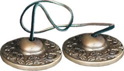 Tibetan Tingsha Dragon Bells -  2.5inches - Meditation