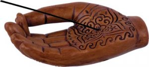 Henne Ceramic Hand  Incense Holder - Metaphysical