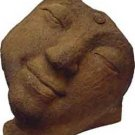 Half - Closed Eyes Buddha Statue Sandstone - metaphysical
