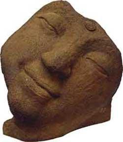 Half - Closed Eyes Buddha Statue Sandstone - metaphysical