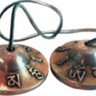 Tibetan Tingsha Mantra Bells -  2.5 inches - meditation metaphysical