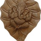 Hindu Ganesha Wall Plaque Gypsum Cement- metaphysical
