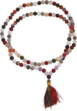 Multi Stones Mala Prayer Beads - metaphysical