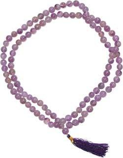 Amethyst Mala Prayer Beads - metaphysical