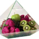 Glass Pyramid Fruit Case - 10 in. - metaphysical