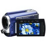 JVC GZ-MG330B 30GB Hybrid HDD/Micro SD Camcorder (Blue)