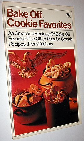 1969 Pillsbury Bake Off Cookie Favorites Recipe Booklet