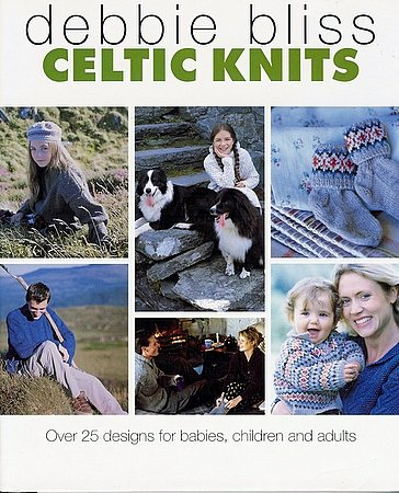Celtic Knits Debbie Bliss Hardcover Knitting Over 25 Designs