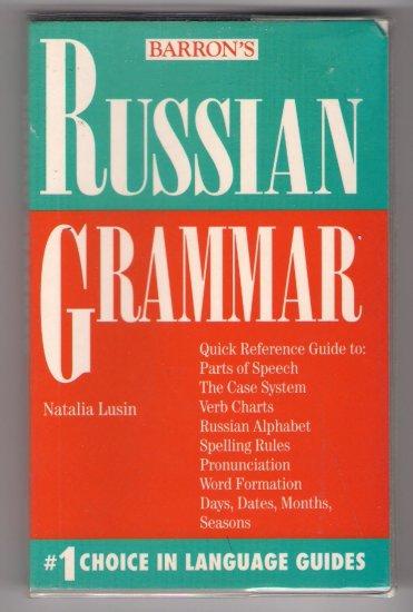 Barron's Russian Grammar Natalia Lusin