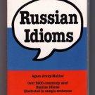 Russian Idioms Barron's Language Guide Agnes Arany-Makkai