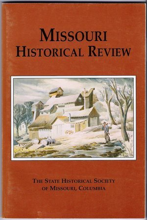 Missouri Historical Review Jan 2000  Woodson's Cavalry Judge David Todd