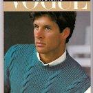 Vogue Men's Knits Book Christina Probert Vogue Knitting Library