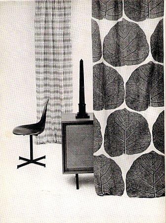 Printed Textile Design Book Terence Conran 1957 Mid Century Modern Retro Fabrics