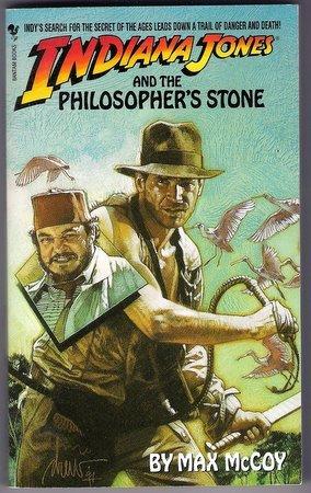 Indiana Jones and the Philosopher's Stone Max McCoy PB