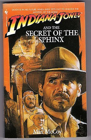 Indiana Jones and the Secret of the Sphinx Book Max McCoy PB