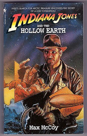 Indiana Jones and the Hollow Earth PB Max Mccoy