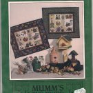 Debbie Mumm Quilting Pattern Garden of Delights Wallhanging Quilt No Sew Applique