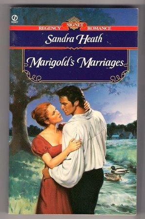 Marigold's Marriages Sandra Heath Regency Romance PB