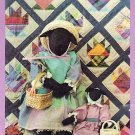 Country Sheep Doll & Cake Stand Wallhanging Doll Quilt Pattern Country Threads #122