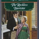 The Reckless Barrister April Kihlstrom Signet Regency Romance Paperback Book