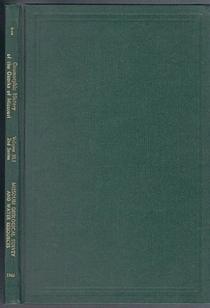 Geomorphic History of the Ozarks of Missouri J Harlen Bretz Ozark Geology
