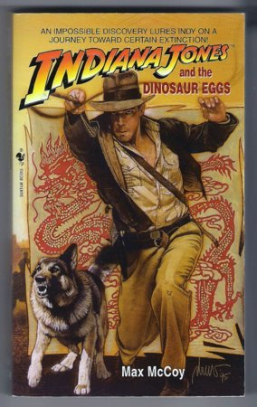 Indiana Jones and the Dinosaur Eggs Max McCoy PB