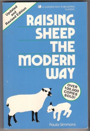 Raising Sheep the Modern Way Paula Simmons Paperback Book