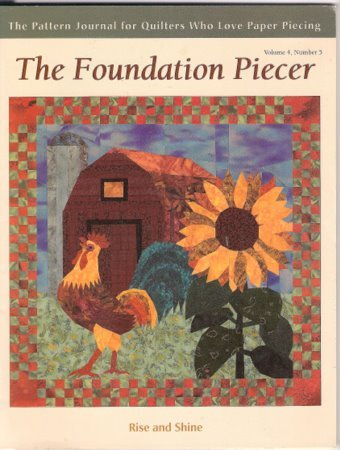 The Foundation Piecer Pattern Journal Volume 4 Number 5 Quilting Paper Piecing Patterns